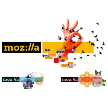 لوگو جدید موزیلا