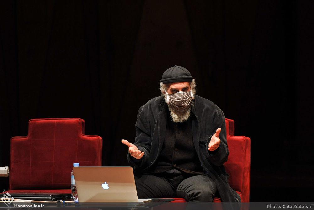 رضا عابدینی - عکس از پایگاه خبری هنر آنلاین
