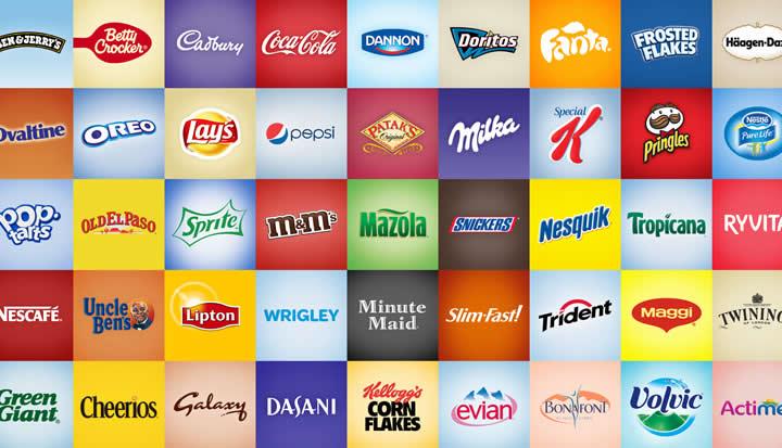 برندهای مواد غذایی ذهنیت پیشرونده